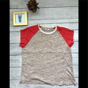 Madewell Linen T-shirt